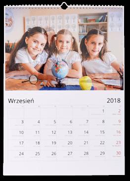 Fotokalendarz A4 pion, 13 kart