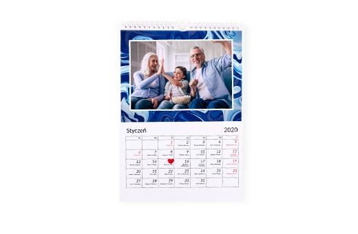 Fotokalendarz A4 pion/poziom